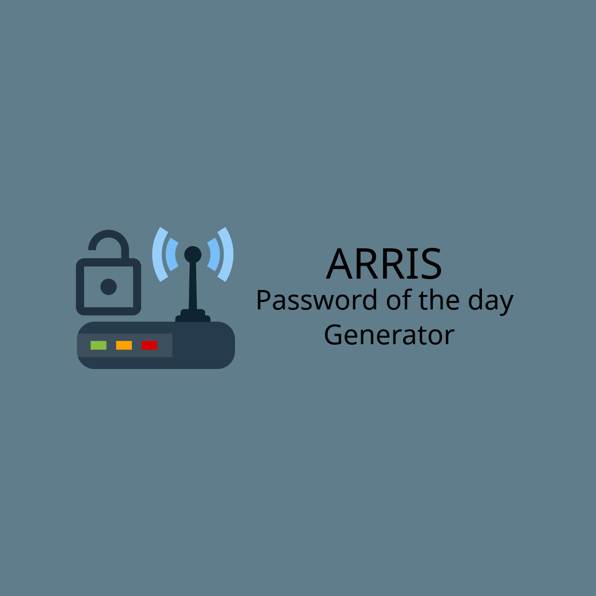 arris modem advanced password